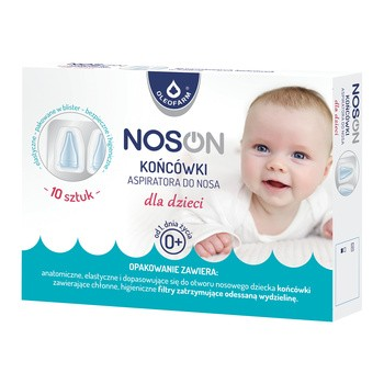 Noson, końcówki do aspiratora do nosa dla dzieci, 10 szt.