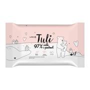 Luba Tuli, nawilżane chusteczki dla dzieci 97% woda i pantenol, 60 szt.