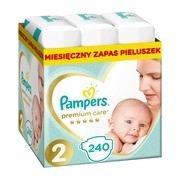 Pampers Premium Care, 2, (4-8 kg), 240 szt.