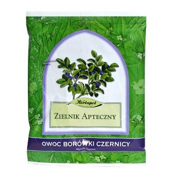 Owoc borówki czernicy, zioło pojedyncze, 50 g (Herbapol Lublin)