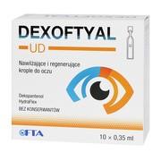 Dexoftyal UD, krople do oczu, 0,35 ml, 10 pojemników jednodawkowych.