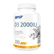SFD D3 2000IU, tabletki, 200 szt.
