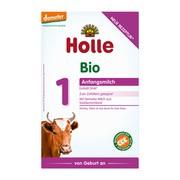 Holle Mleko 1 BIO, dla niemowląt od urodzenia, proszek, 400 g