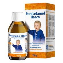 Paracetamol Hasco o smaku pomarańczowym, 120mg/5ml, zawiesina doustna, 150 g