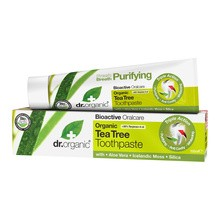 Dr. Organic Tea Tree, pasta do zębów z olejkiem z drzewa herbacianego, 100 ml