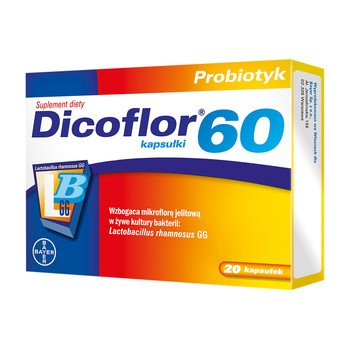 Dicoflor 60, kapsułki, 20 szt.