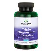 Swanson Triple Magnesium Complex, kapsułki, 100 szt.