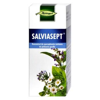 Salviasept, koncentrat do sporządzania roztworu do płukania gardła, 38 ml