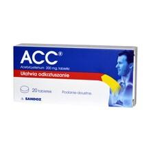 ACC, 200 mg, tabletki, 20 szt.