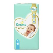 Pampers Premium Care 5 (11−16 kg), pieluszki jednorazowe, 58 szt.
