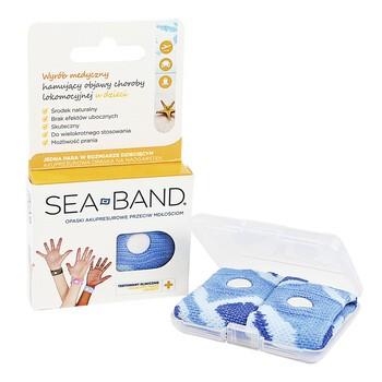 Sea-Band, opaska przeciw mdłościom, akupresurowa dla dzieci, 2 szt.
