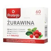 Protego Żurawina, tabletki, 60 szt.