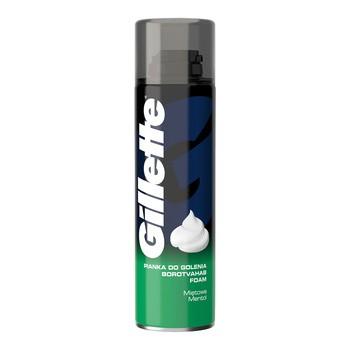 Gillette Classic Menthol, pianka do golenia, 200 ml
