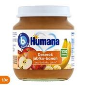Zestaw 10 x Humana 100% Organic Deserek