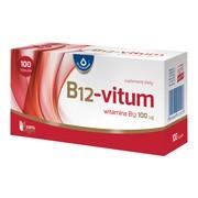 B12 - Vitum, 100 µg, kapsułki, 100 szt.