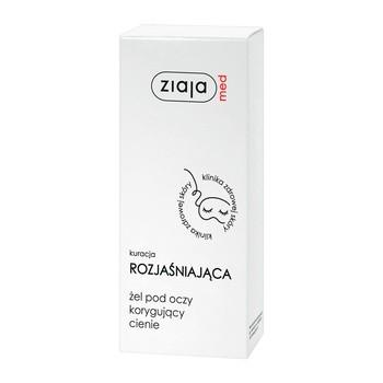 Ziaja Med, żel pod oczy korygujący cienie, 15 ml