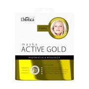 L`Biotica Maska Hydrożelowa Active Gold na tkaninie, 25 g