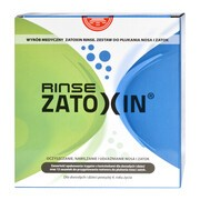 Zatoxin Rinse Zestaw do płukania nosa i zatok, 12 saszetek + irygator