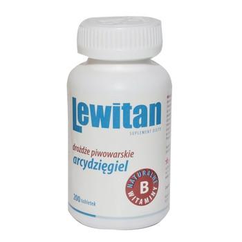 Lewitan AO, arcydzięgiel w tabletkach, 100 g