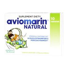 Aviomarin Natural, tabletki powlekane, 10 szt.