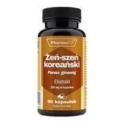 Pharmovit Żeń-szeń koreański Extrakt 250 mg, kapsułki, 90 szt.
