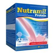 Olimp Nutramil Complex Protein, smak truskawkowy, 6 saszetek