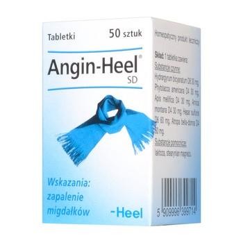 Heel-Angin SD, tabletki, 50 szt.