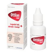 Ottilan Med, krople do uszu, 15 ml