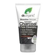 Dr. Organic Activated Charcoal, maska do twarzy z aktywnym węglem, 125 ml