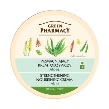 Green Pharmacy, wzmacniający krem odżywczy, aloes, 150 ml