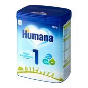 Humana 1, mleko początkowe, proszek, 750 g