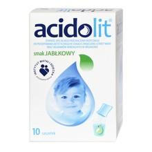 Acidolit, proszek, smak jabłkowy, 4,4 g, 10 saszetek