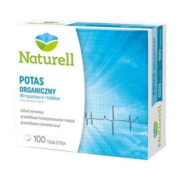 Naturell Potas Organiczny, tabletki, 100 szt.