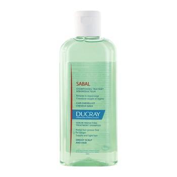Ducray Sabal, szampon do włosów tłustych, redukujący wydzielanie sebum, 200 ml
