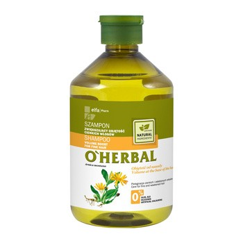O`Herbal, szampon zwiększający objętość cienkich włosów, ekstrakt z arniki,  500 ml