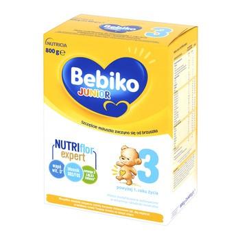 Bebiko Junior 3, mleko modyfikowane, proszek, 800 g