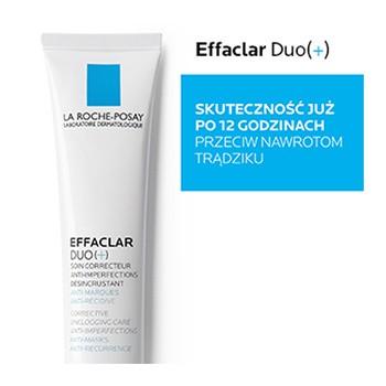 La Roche-Posay Effaclar Duo (+), krem zwalczający niedoskonałości, zatkane pory, przebarwienia potrądzikowe, 40 ml