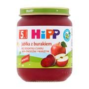 HiPP BIO, jabłka z burakiem, po 5. miesiącu, 125 g