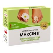 Marcin II, aparat korekcyjny na palce stopy, na dzień
