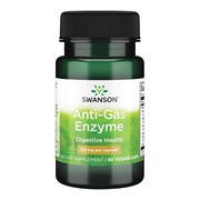 Swanson Anti-Gas Enzyme, kapsułki, 90 szt.
