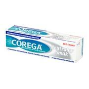 Corega Super Mocny Neutralny Smak, krem do protez, 40 g