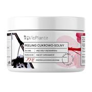 Vis Plantis Herbal Vital Care, peeling cukrowo-solny, olej z róży + olej bawełniany, 200 ml