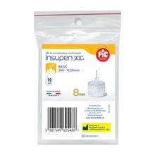 PiC Insupen, igły do wstrzykiwaczy insulinowych, 30G x 8 mm, 10 szt.