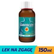 Gaviscon o smaku mięty, zawiesina doustna, 150 ml