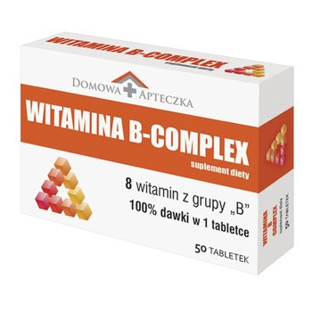 Witamina B Complex, tabletki, 50 szt.