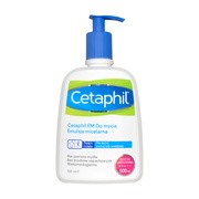 Cetaphil EM, emulsja micelarna do mycia, 500 ml