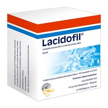 Lacidofil, kapsułki, 60 szt.