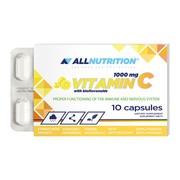 Allnutrition Vitamin C 1000 mg with bioflavonoids, kapsułki, 10 szt.
