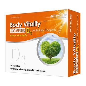 Body Vitality Complex + D3 ActivLab Pharma, kapsułki, 30 szt.