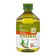 O`Herbal, szampon wzmacniający włosy, ekstrakt z korzenia tataraku, 500 ml